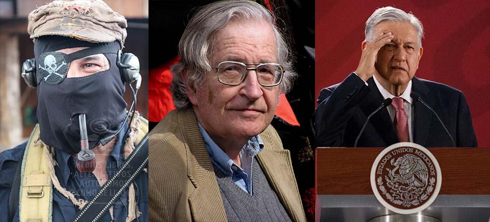 El poder necesita la oscuridad: Noam Chomsky