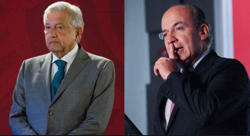 Felipe Calderón crítica y cuestiona a AMLO por reanudar giras