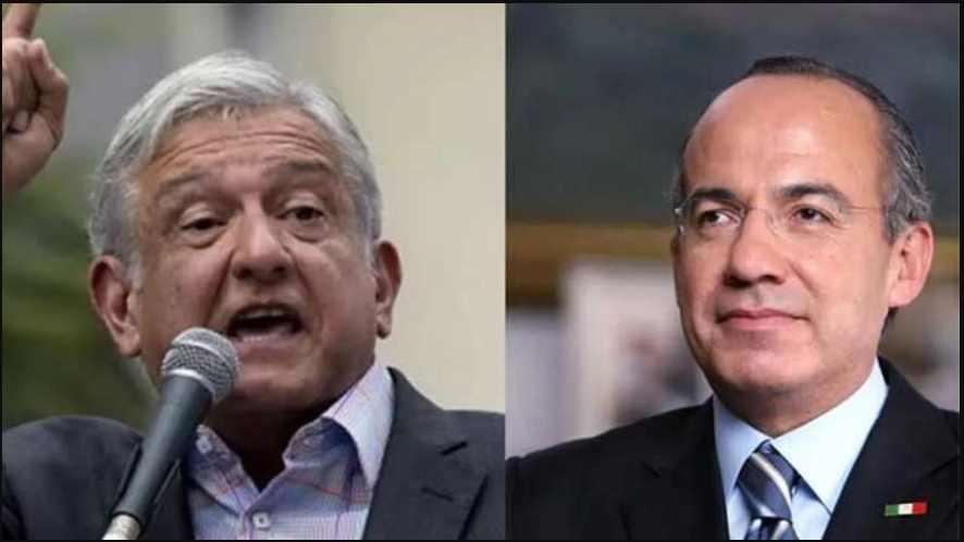 Felipe Calderón exige a AMLO cancelar sus eventos públicos; por favor dice