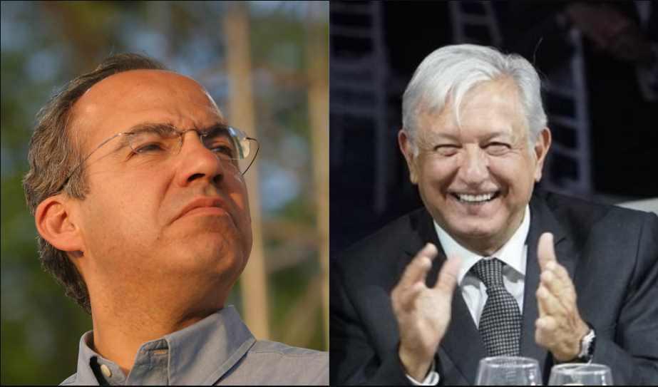 Nunca me he metido a contestarle a Calderón, un asunto que él tiene que valorar: AMLO
