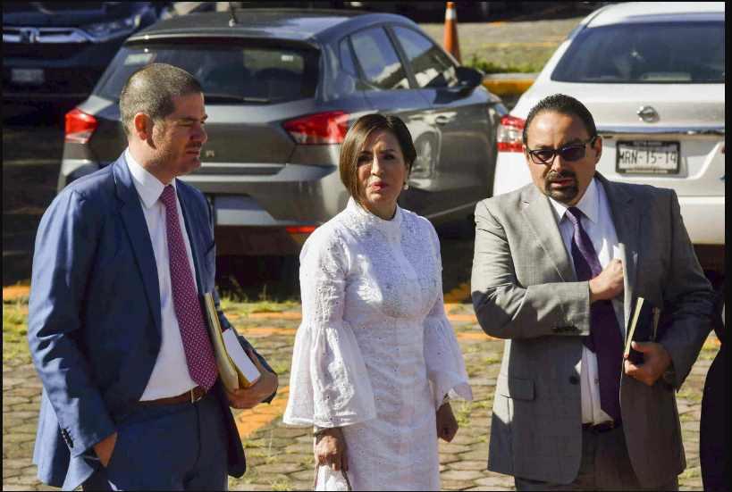 Rosario Robles acusa de odio machista y feminicida en su contra