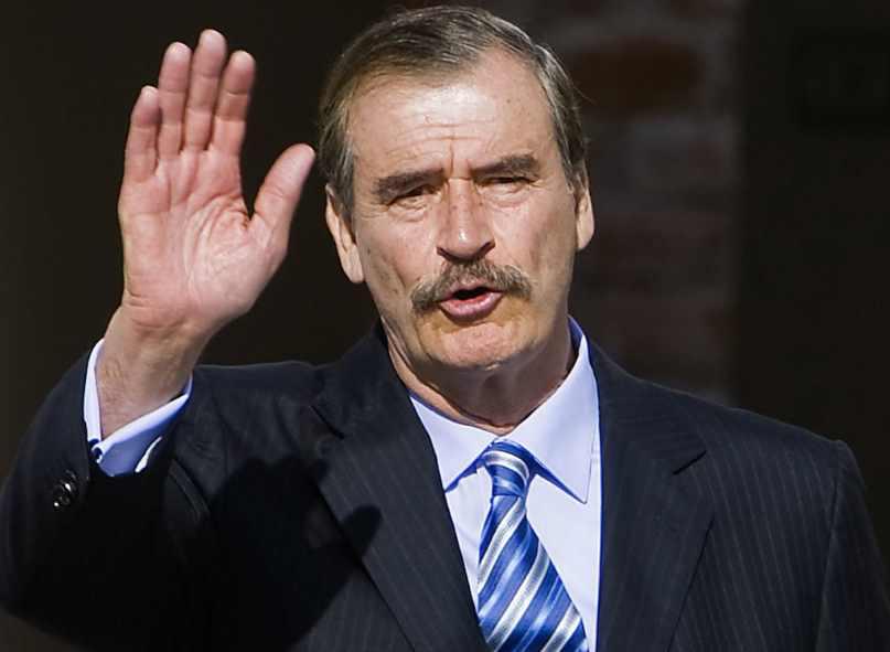 Vicente Fox reaparece y asegura que por plegarias del Papa disminuyeron casos de Covid-19