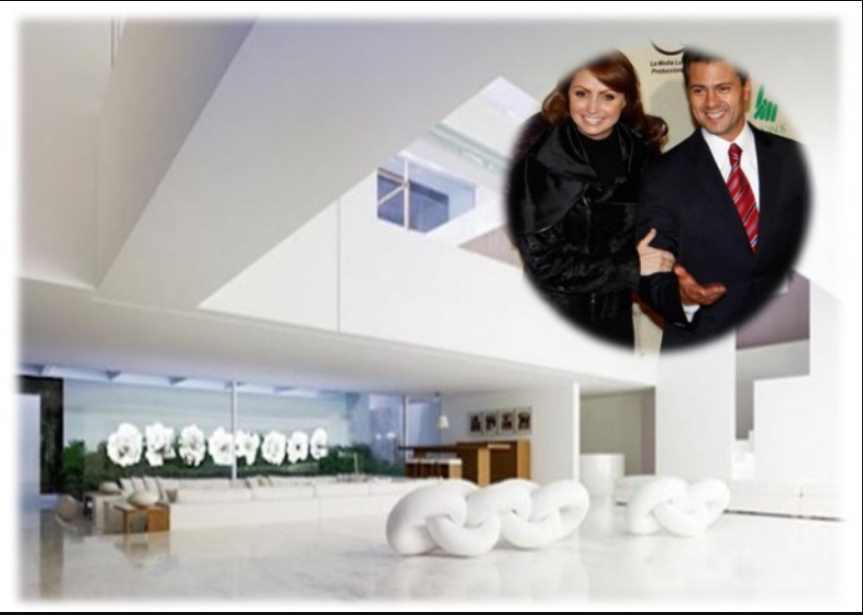 Usuarios de redes sugieren a AMLO rifar la Casa Blanca de  Angélica Rivera y Peña Nieto