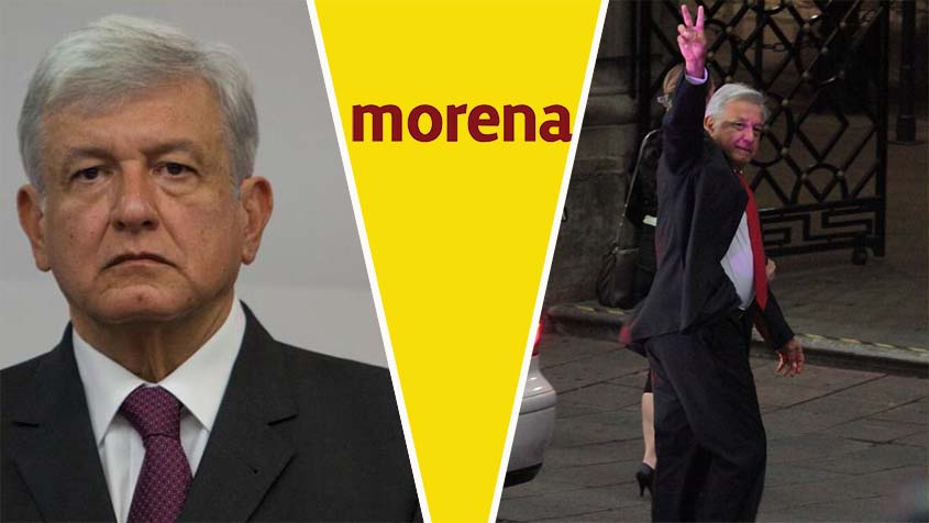 AMLO sobre conflicto en Morena: no me corresponde', deseo que partidos resuelvan sus problemas