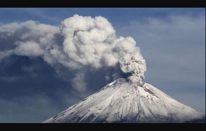 Popocatépetl: registra intensa actividad y regala espectacular imagen