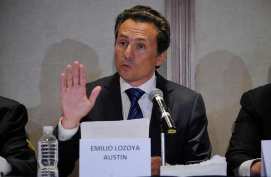 Tribunal valida inhabilitación a Emilio Lozoya por 10 años