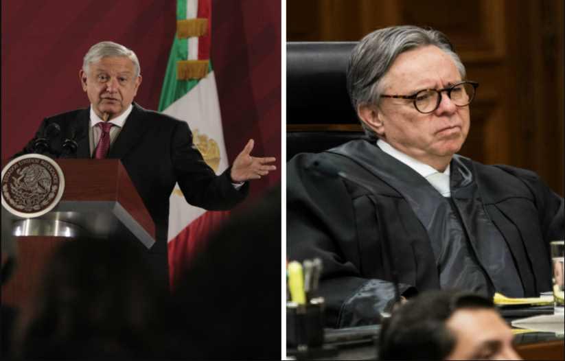 AMLO dará a información sobre renuncia de Medina Mora, siempre y cuando no haya impedimento legal