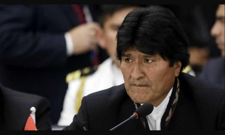 Evo Morales acusado de narcotráfico en Bolivia por 'defender negocio de la coca'