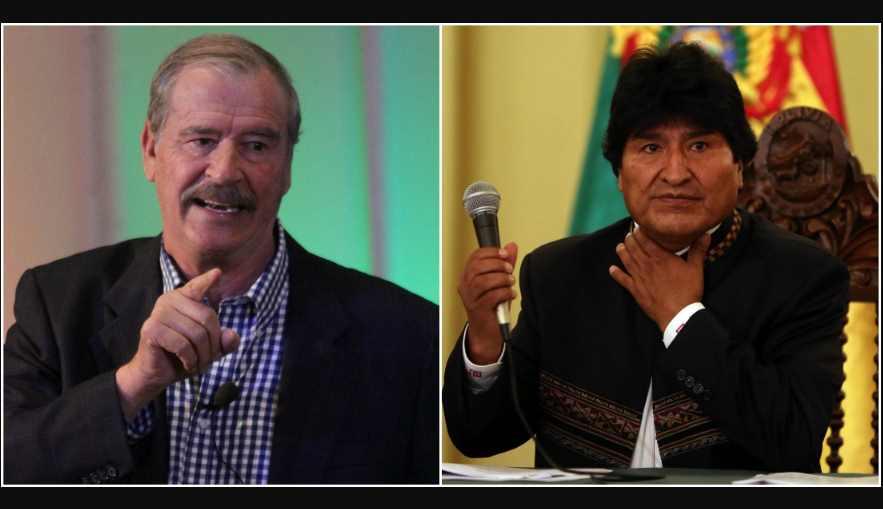 Fox recuerda su frase 'comes y te vas' tras llegada de Evo Morales
