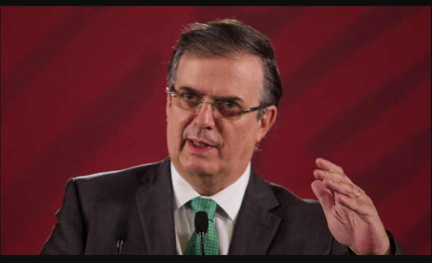 Marcelo Ebrard, confirma cierre parcial de la frontera entre México y EU