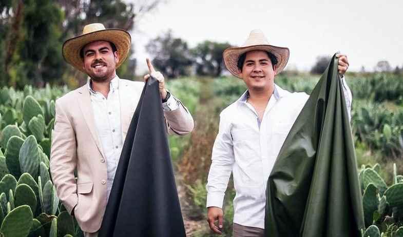 Mexicanos crean piel de nopal y entra al mundo de la moda en Milán