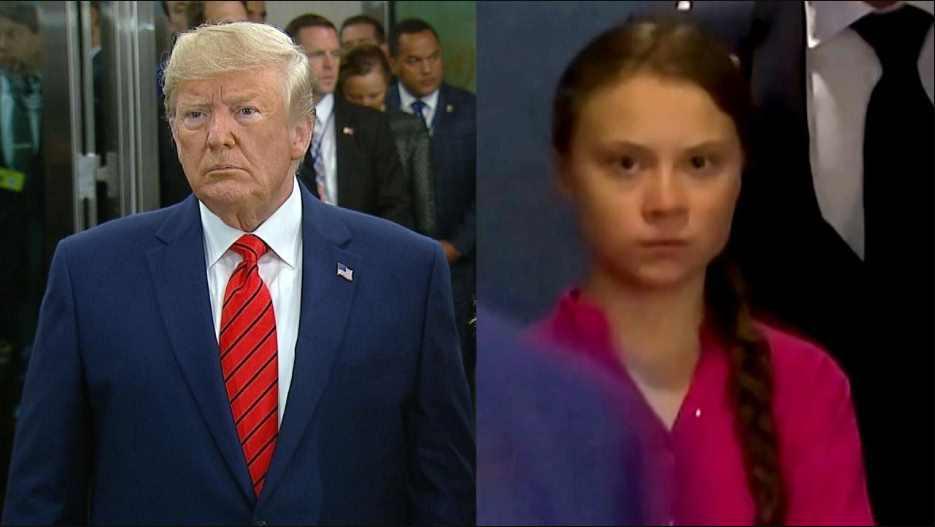 'Hablar con Trump sería perder el tiempo', afirma Greta Thunberg