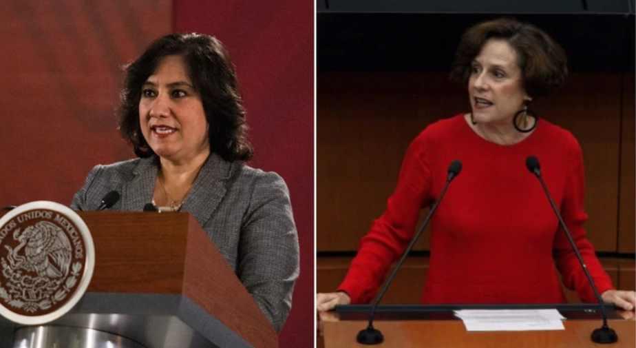 Irma Eréndira Sandoval y Denise Dresser se dan con todo en Twitter