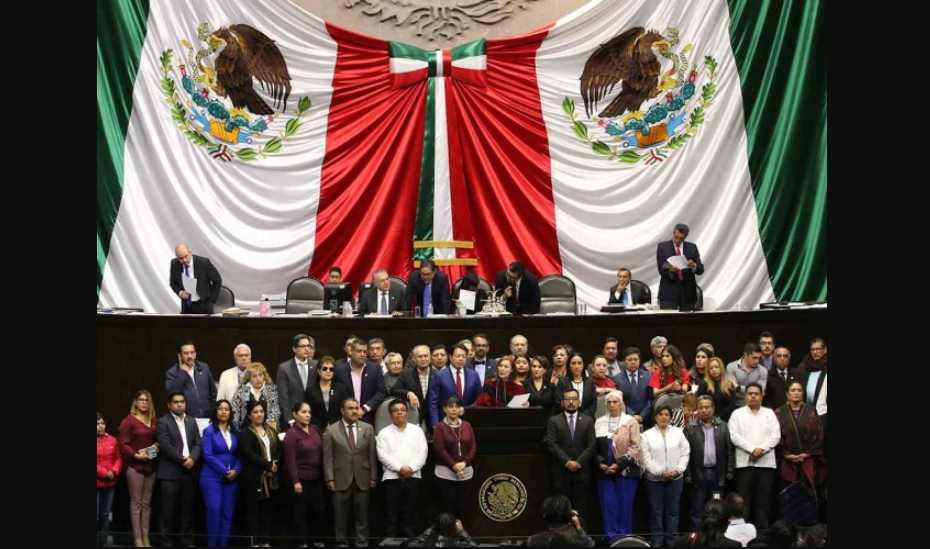 PAN, PRI, PRD y PT rechazan reducir su financiamiento; Morena y PES votan a favor
