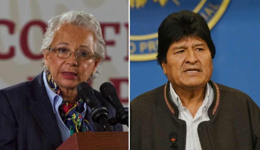 Evo Morales puede entrar y salir de México por visa humanitaria: Segob