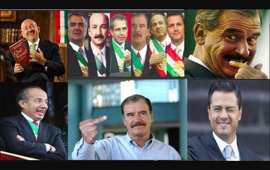 Salinas, Zedillo, Fox, Calderón y EPN encubrieron García Luna