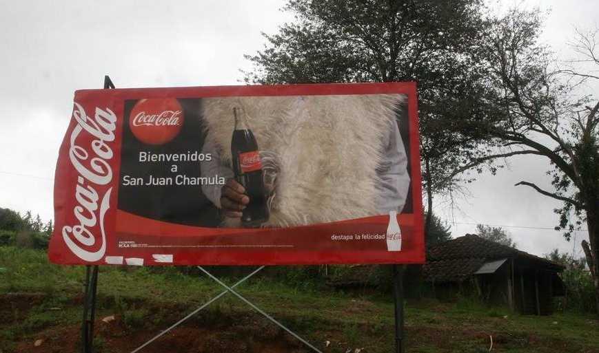 Coca Cola priva de agua a indígenas de Chiapas; aumenta epidemia de diabetes
