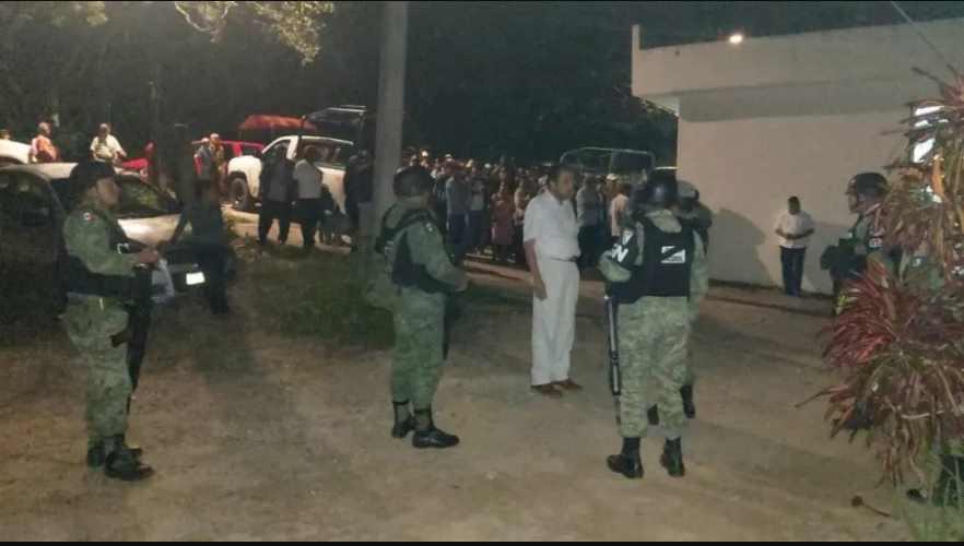 Elementos de la GN fueron liberados tras ser retenidos por pobladores de Tecoanapa