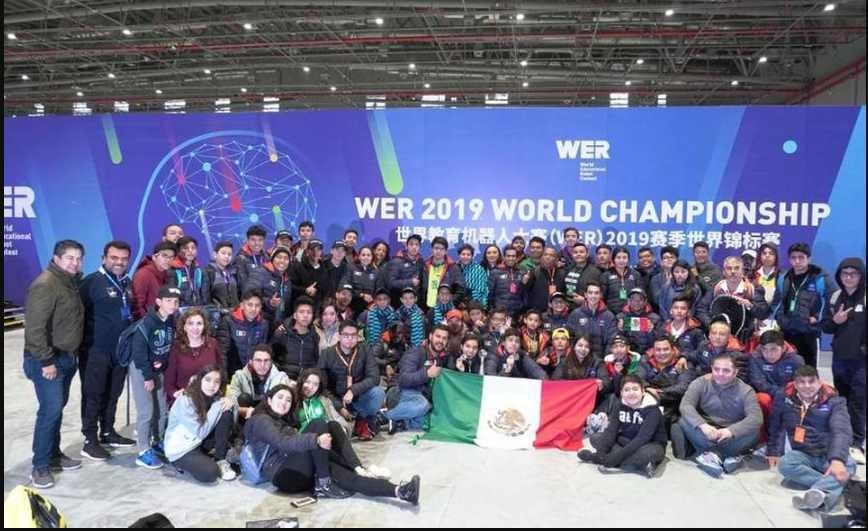 Estudiantes mexicanos ganan torneo mundial de robótica en China