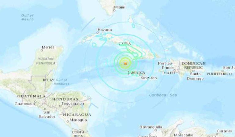 Activan alerta de tsunami por sismo de 7.7 en Jamaica y Cuba; en México no hay riesgo