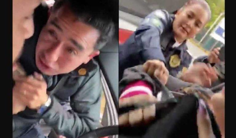 Inhabilitan a policías que agredieron al portero del Pumas y a su esposa