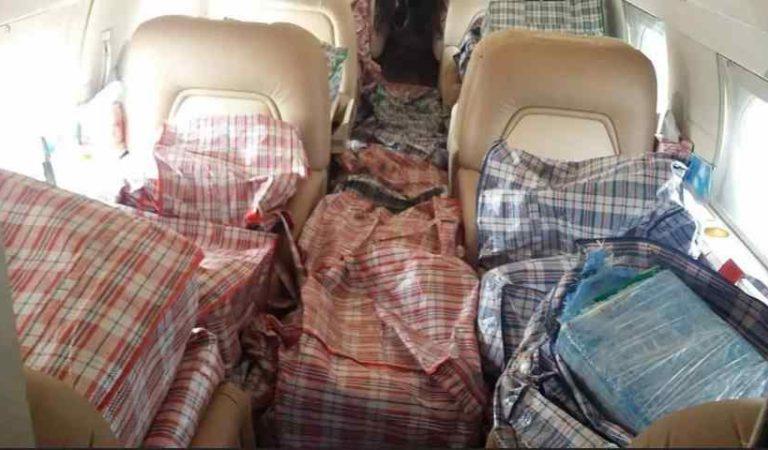 Sedena asegura aeronave de Argentina en Quintana Roo con tonelada de cocaína
