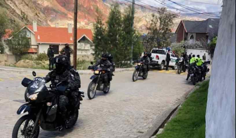 Embajada de México en Bolivia reporta operativo policial en los alrededores de la Residencia