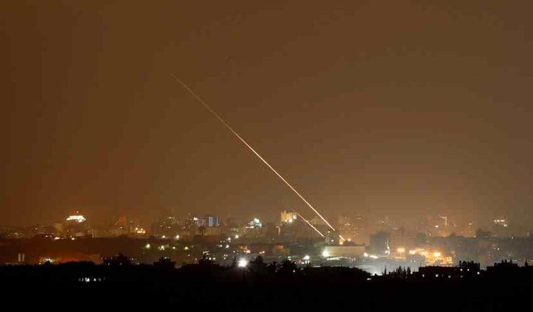 Lanzan tres misiles contra Israel desde Franja de Gaza
