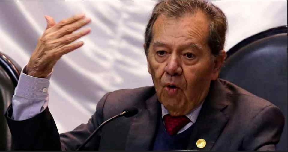 Tras declaraciones sobre migración, Muñoz Ledo acusa guerra sucia en su contra