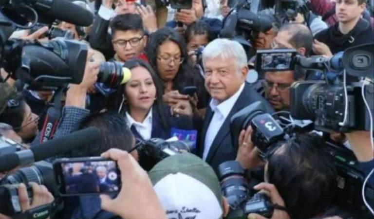 AMLO asegura que no tolerará agresiones contra periodistas en estados