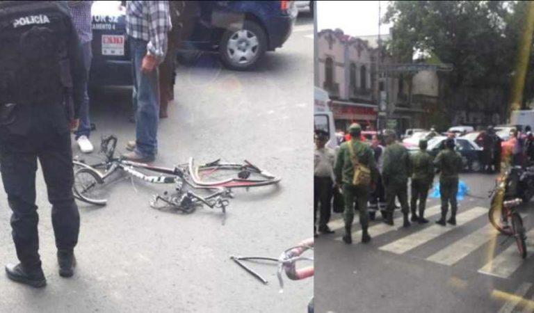Camión de militares atropella y mata a ciclista en Santa María la Ribera