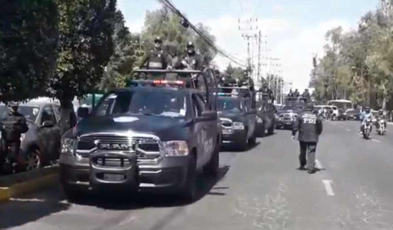 Con fuerte operativo policiaco trasladan a la CDMX a feminicidas de Fátima