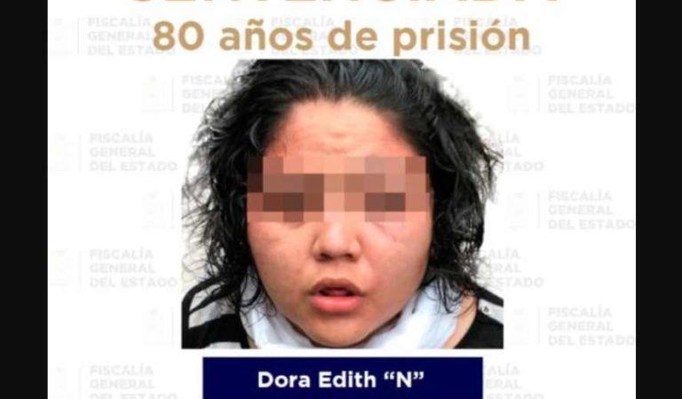 Condenan a 80 años de cárcel a mujer que secuestró y mató a niño