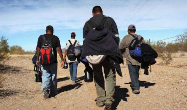 Ebrard destaca reducción del 74.5% en cruce de migrantes con EUA