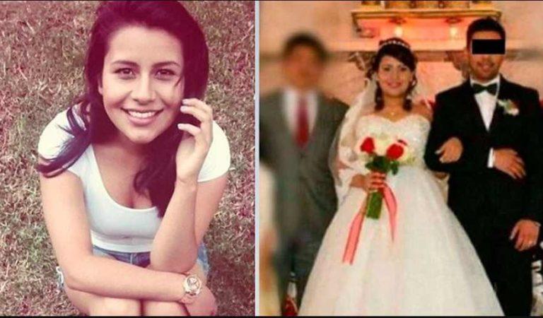Ella es Lupita; su marido la desfiguró y mató a tabicazos a 6 meses de casados