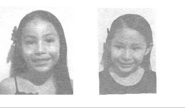 ¡Localizadas! Fiscalía encuentra a las menores Gabriella y Emily Valdez González