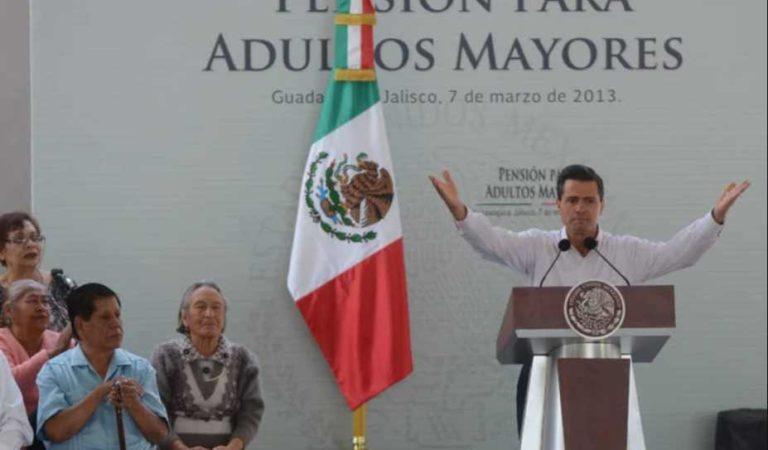 En Gobierno de Peña Nieto se dieron pensiones a adultos mayores ya muertos: ASF