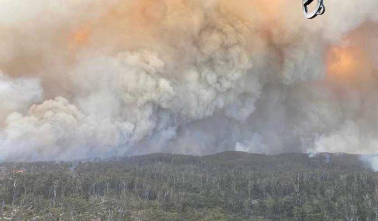 Incendios ponen en jaque a la capital de Australia