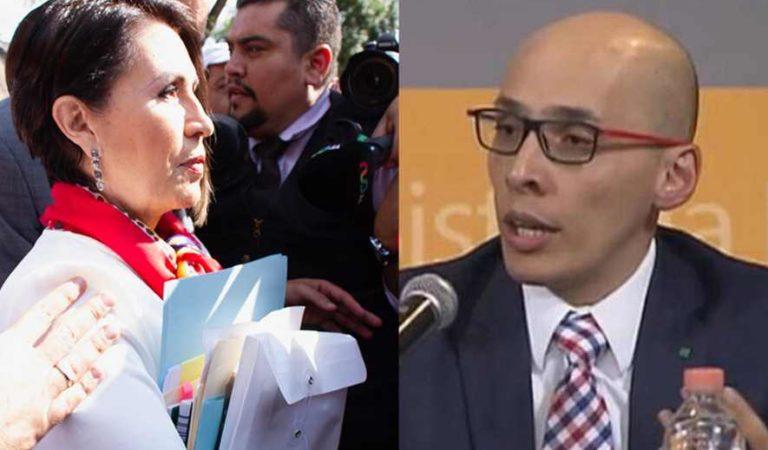 Juez que dictó prisión a Rosario Robles; volverá a ejercer como juez de control