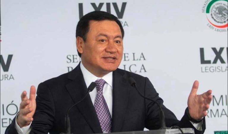 Osorio Chong se desmarca de Lozoya: 'no tengo ningún temor'