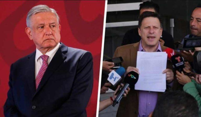 PRD denuncia a AMLO ante la FGR por cena con empresarios para rifa del avión presidencial