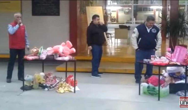 Profesores 'sin amor' decomisan regalos de San Valentín a estudiantes de secundaria
