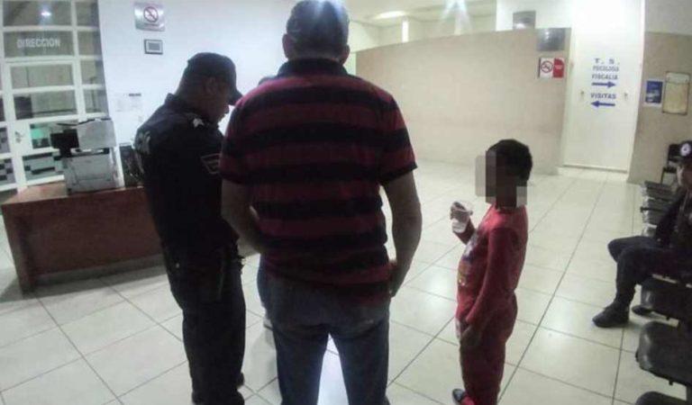 Rescatan a menor de edad que salió de su casa y deambuló por calles de Aguascalientes