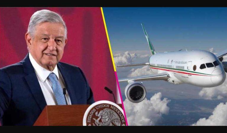 Hay una oferta para comprar el avión presidencial, asegura AMLO