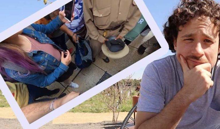 En video de Luisito Comunica; sujeto graba bajo la falda de una joven   VIDEO