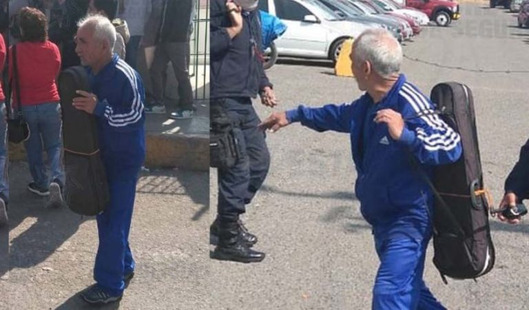 Liberan a don Lucio, violinista encarcelado por defenderse; ayudaron las redes