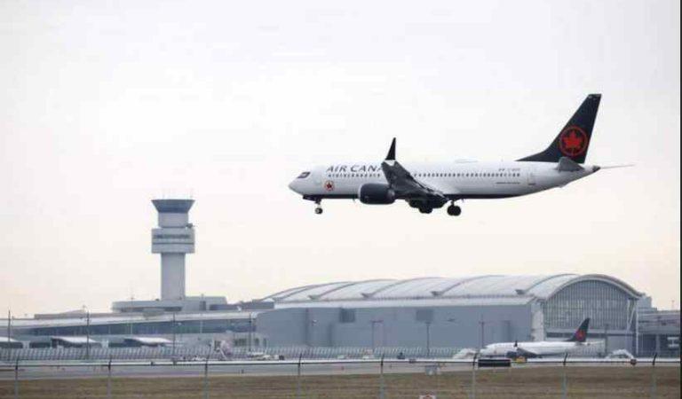 'Les pedimos mucha calma': difunden audio del avión Air Canada momentos antes de aterrizar
