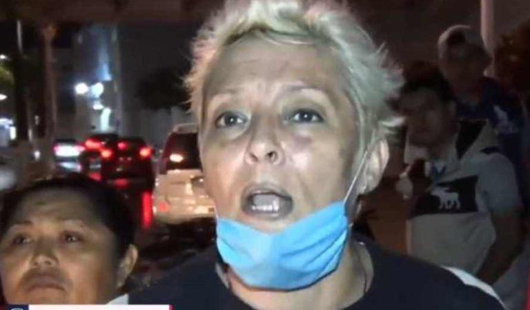 '¡Qué no bajen del barco!', así reaccionaron habitantes de Cozumel por llegada del crucero Meraviglia | VIDEO