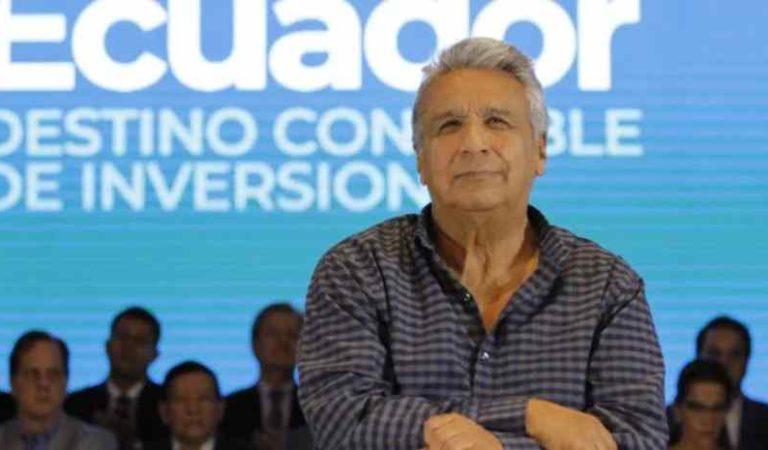 Expulsan a Lenin Moreno de su partido en Ecuador