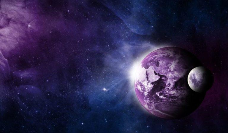 La Luna se junta con Marte, Júpiter y Saturno